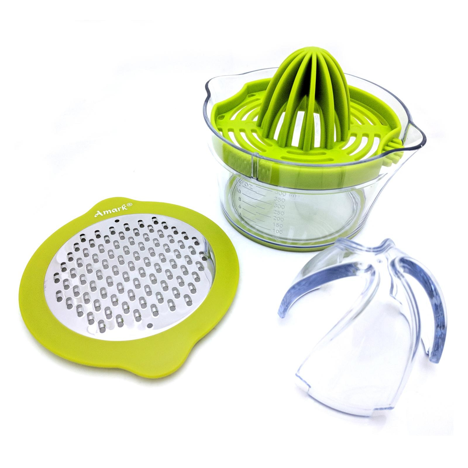 Amark Multifunction 4-In-1 Juicer & Grater
