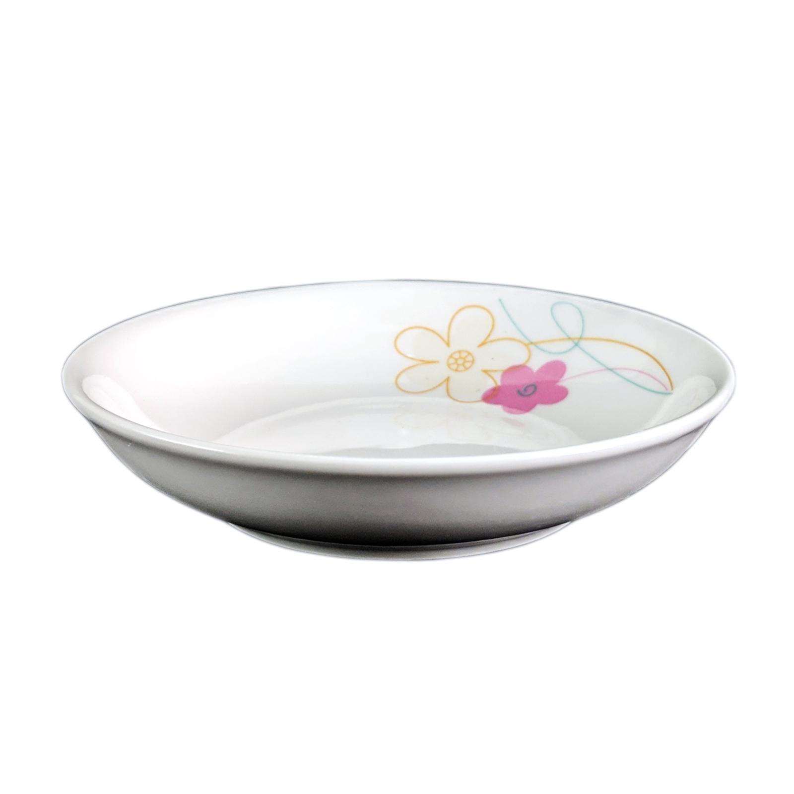 Amark Plum Blossom Porcelain Sauce Dish 4