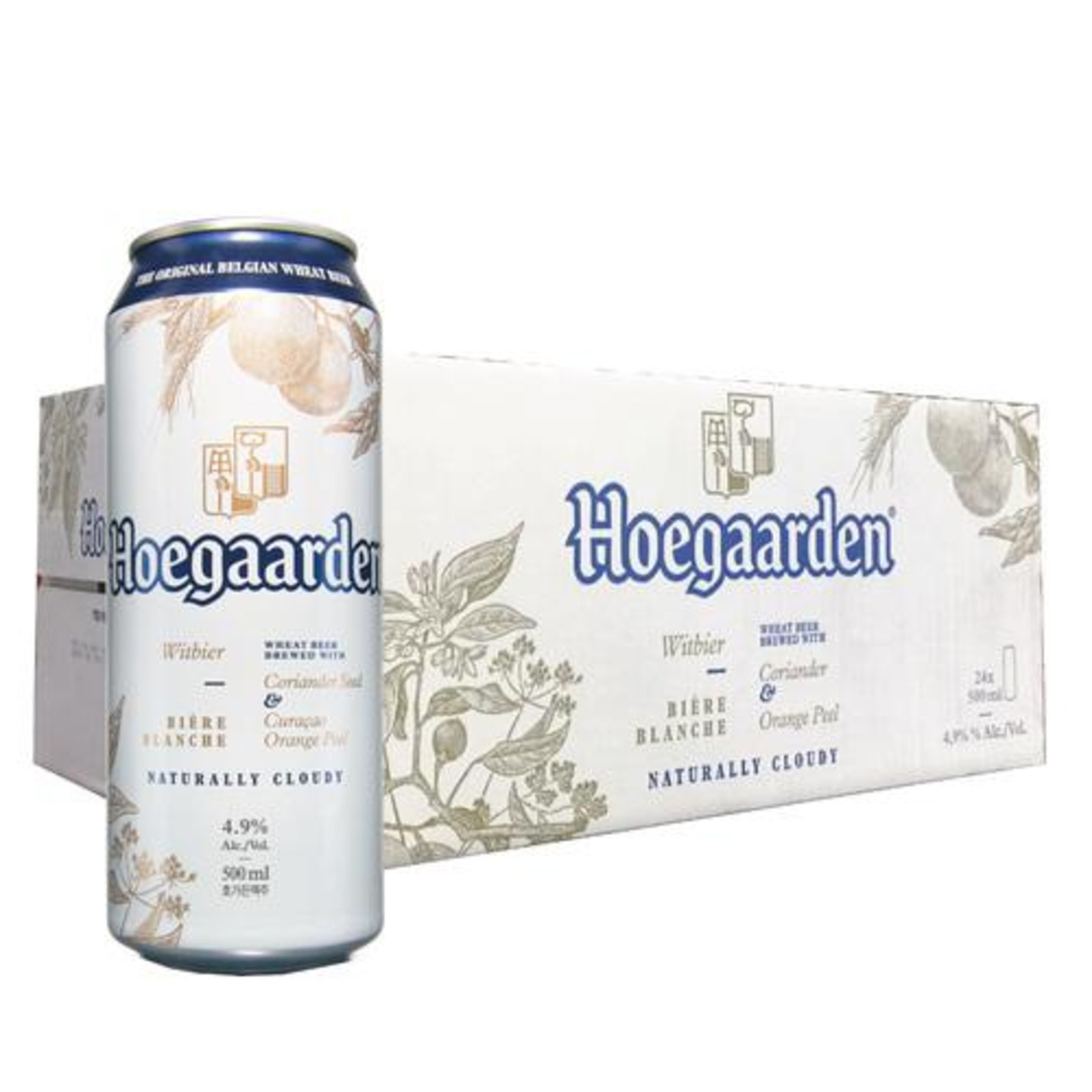 Hoegaarden White Cans 500ml