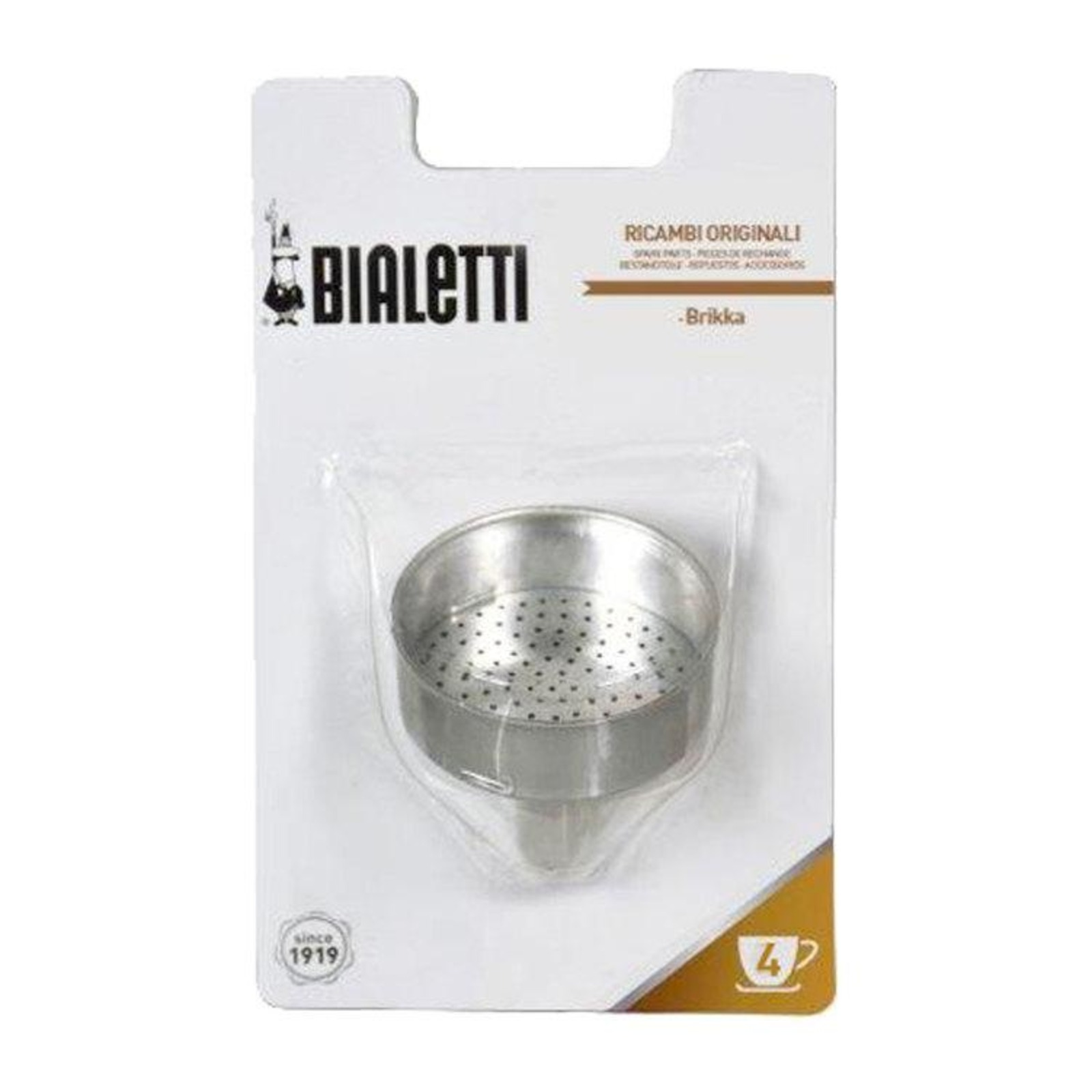 Bialetti Replacement Funnel Brikka 4 Cups