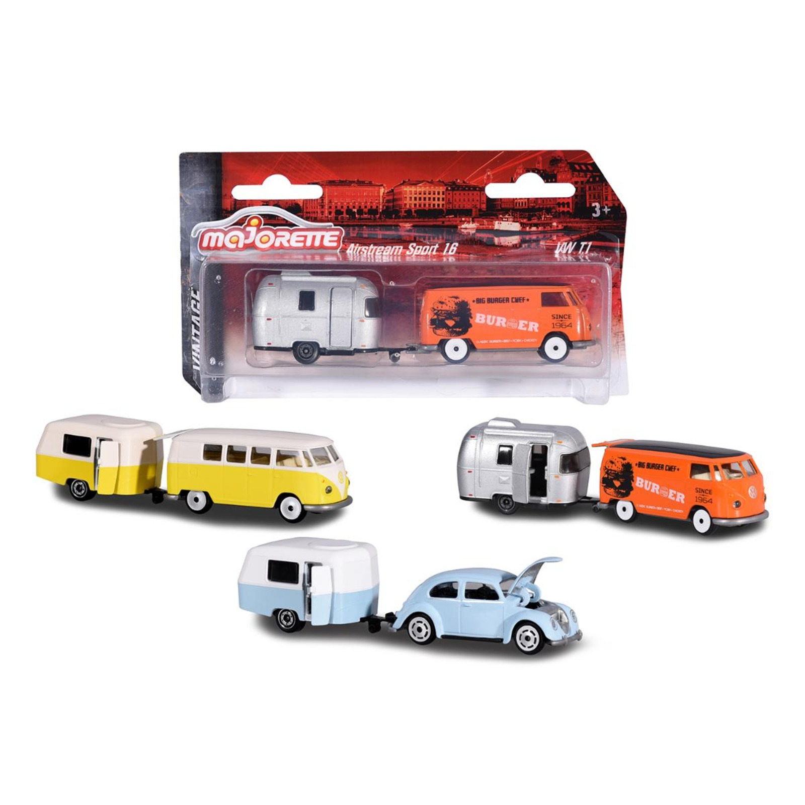 Majorette Vintage Trailer Assortment