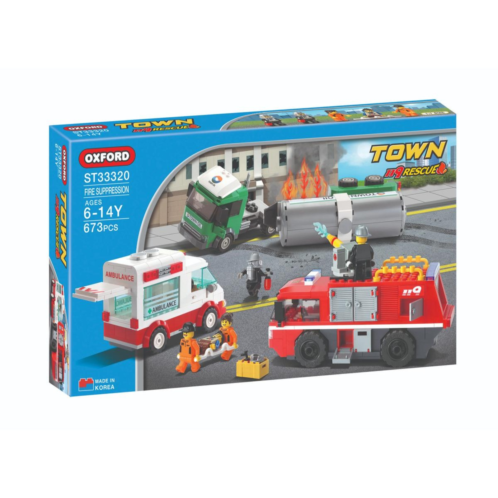 Oxford Toys Town Series(Fire Suppression)