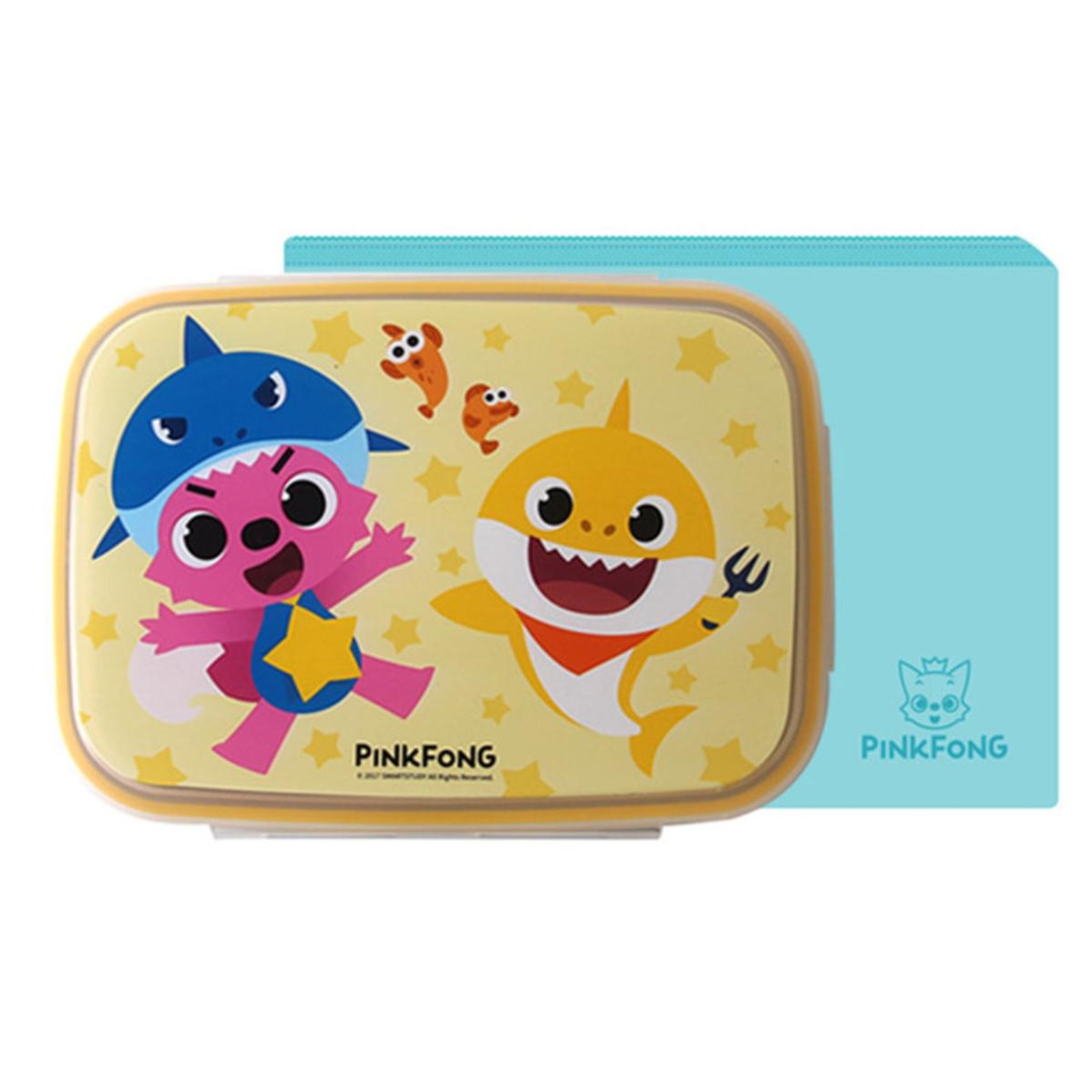 Pinkfong Wide Stainless Steel Lunch Box