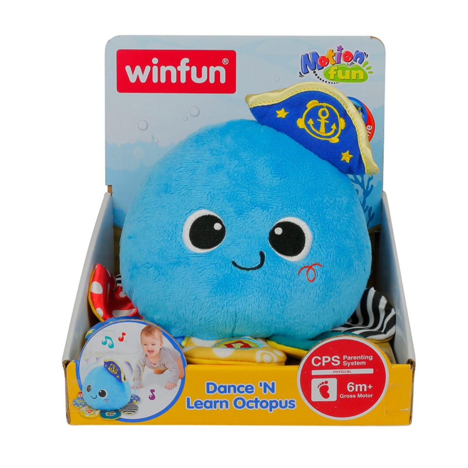 Winfun Dance 'N Learn Octopus