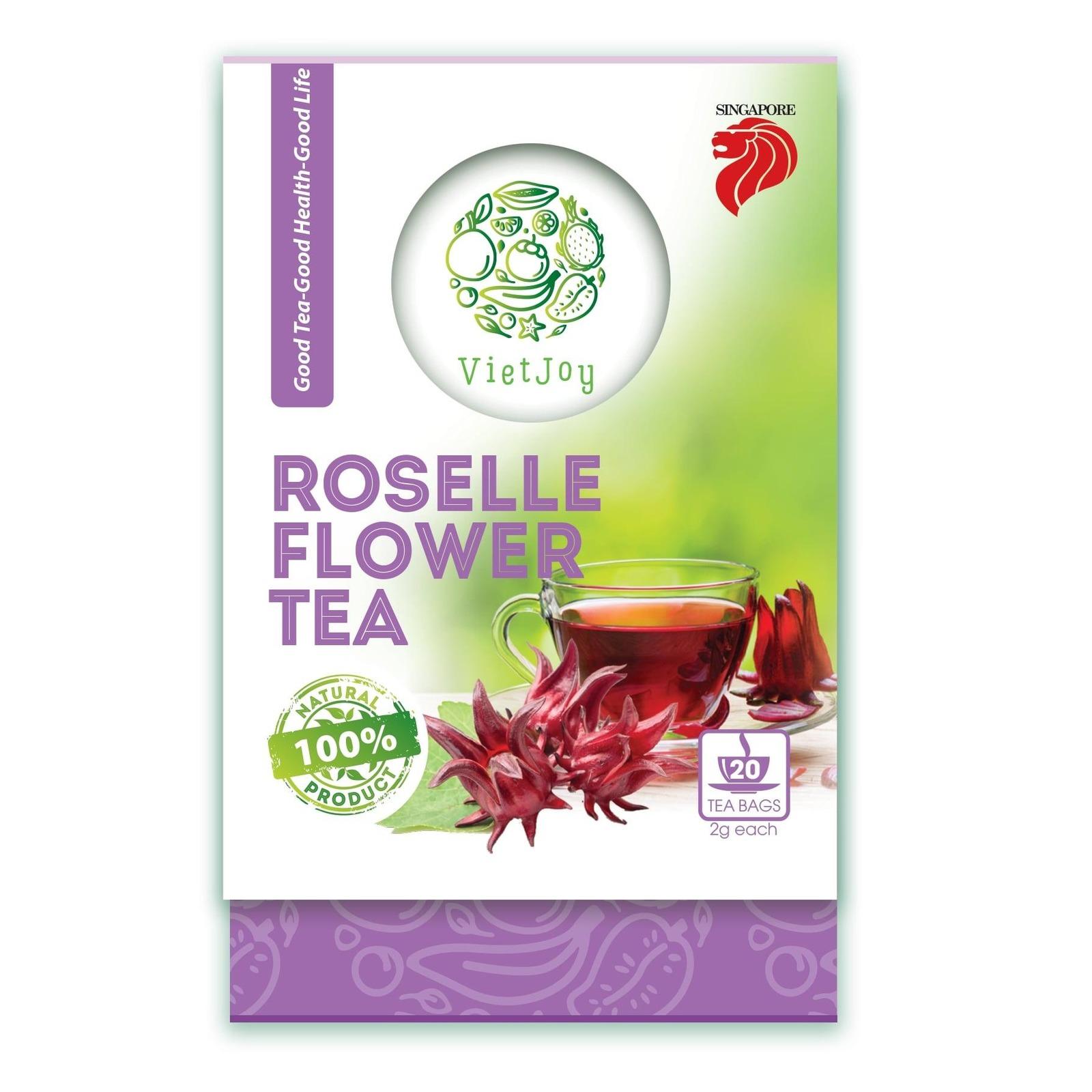 Vietjoy Roselle Flower Tea