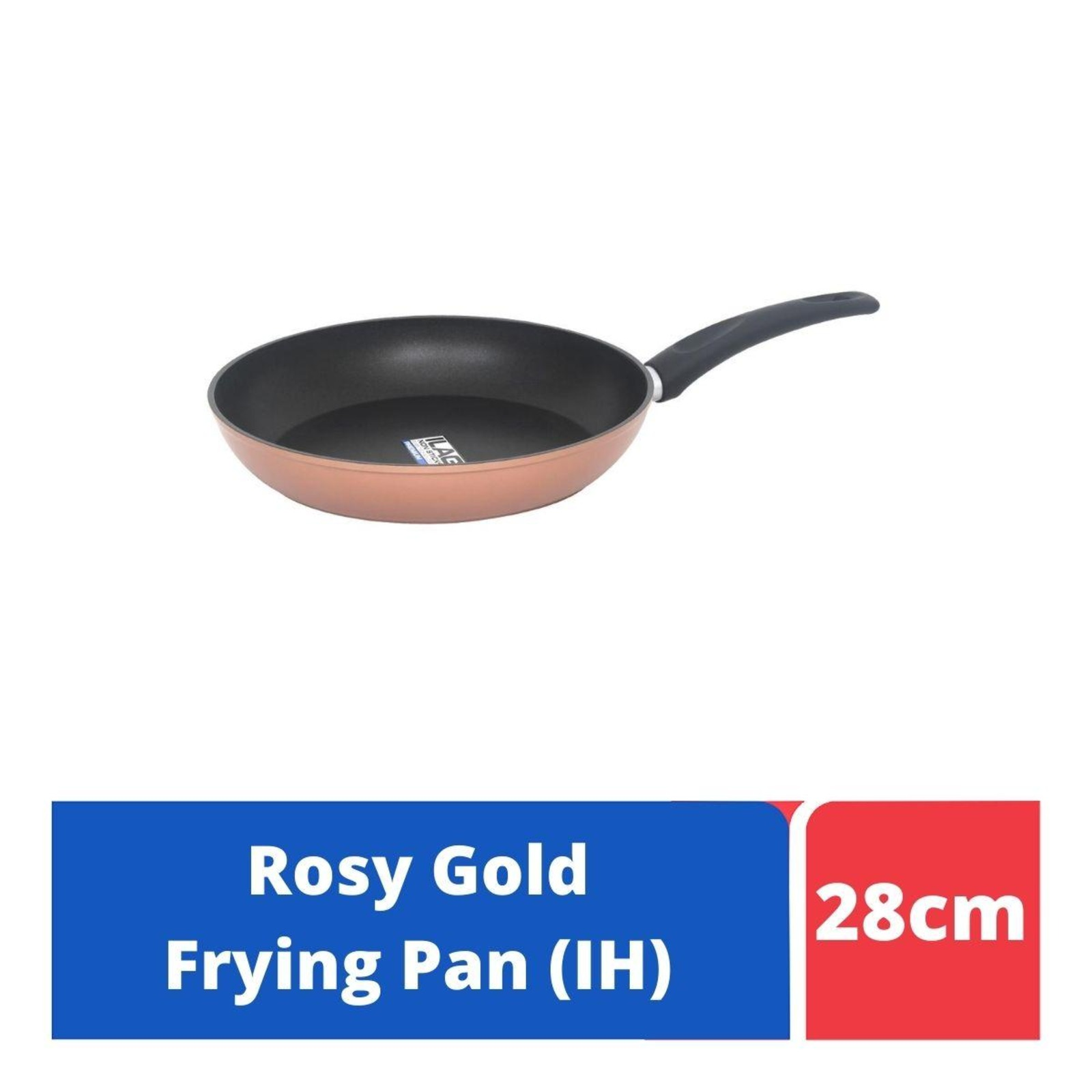 LOCK&LOCK Rosy Gold IH Frying Pan 28cm
