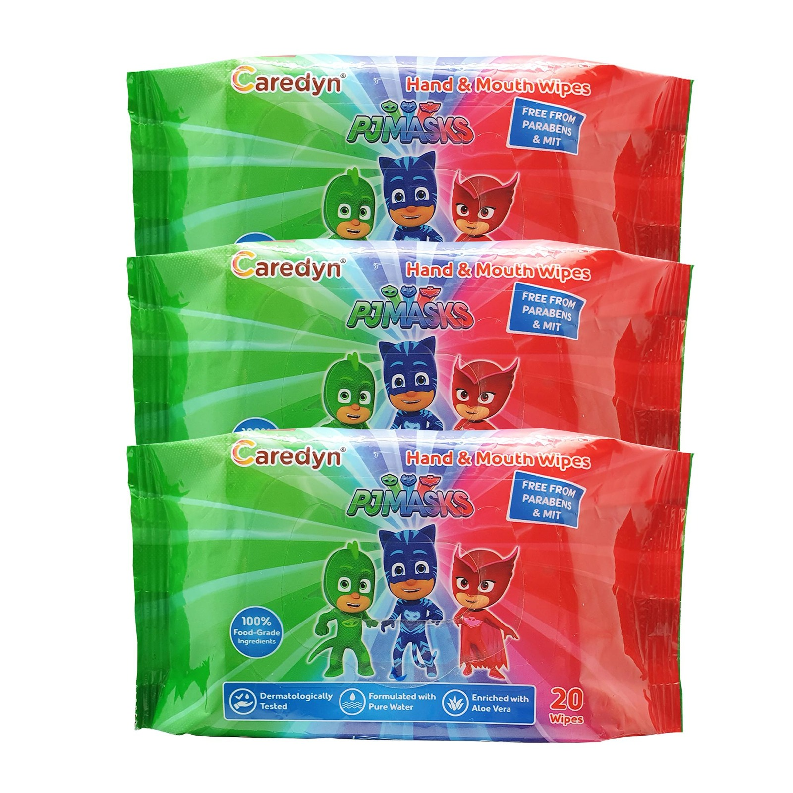 PJ Masks Hand and Mouth Wipes