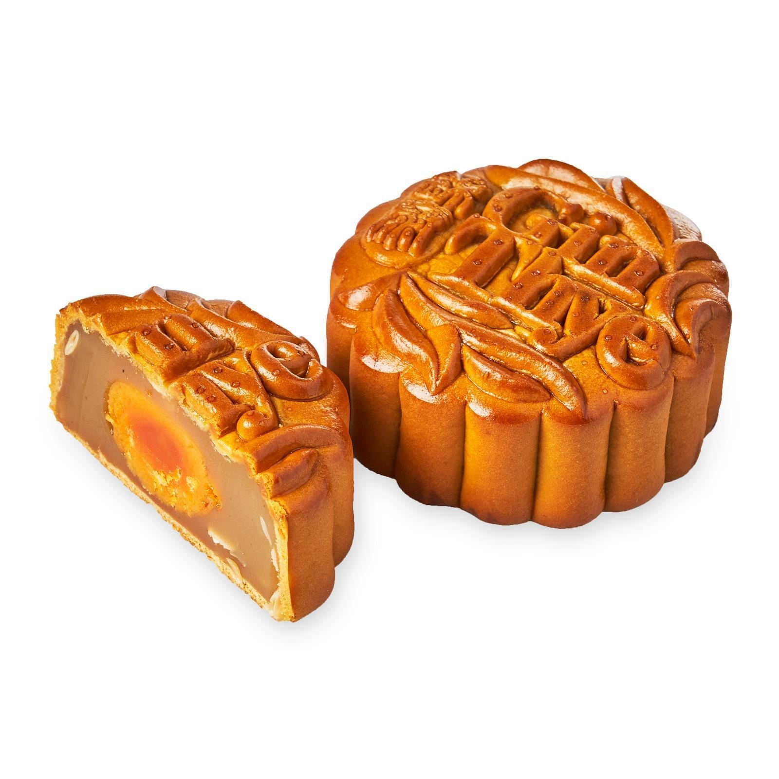 Gin Thye Low Sugar Mooncake - White Lotus Single Yolk