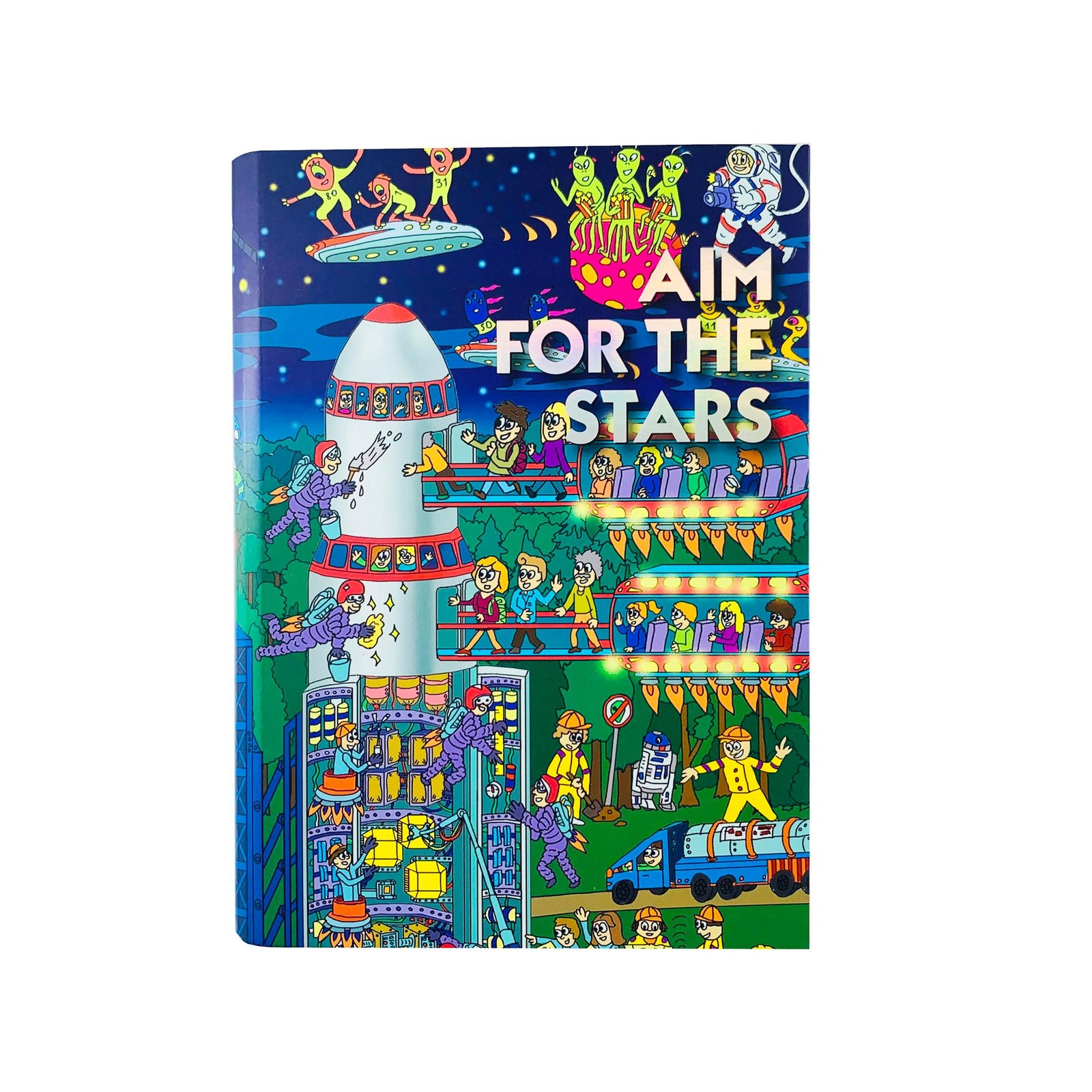 The Paper Stone Journal - Aim for the Stars Rocket