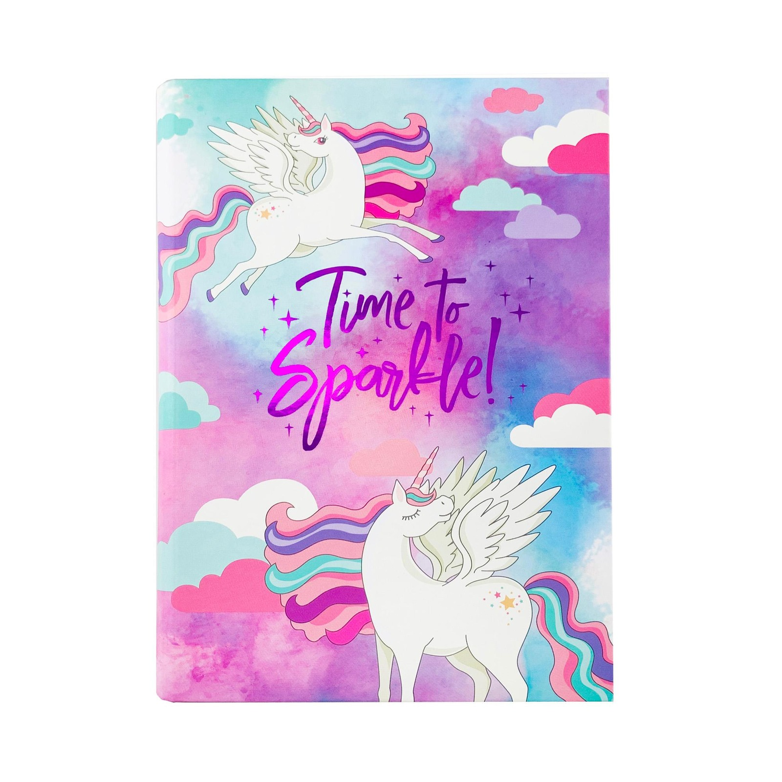 The Paper Stone Just Lines - Time to Sparkle Unicorns