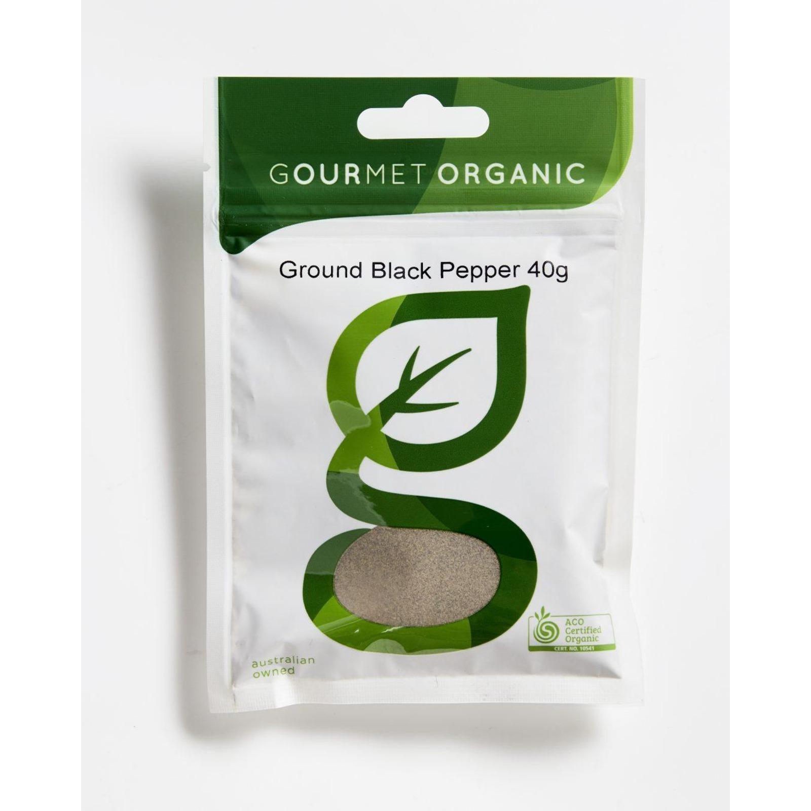 Gourmet Organic Pepper Black Ground
