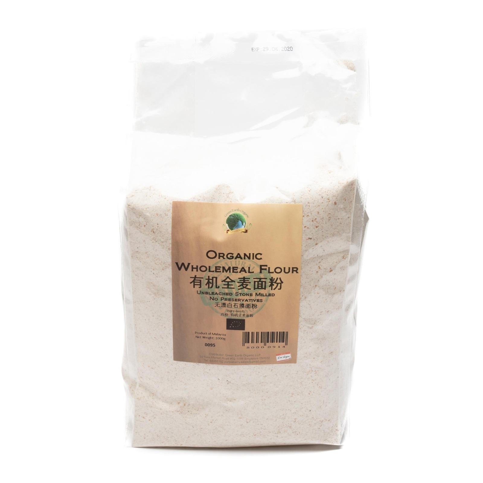 Green Earth Organic Organic Wholemeal Flour