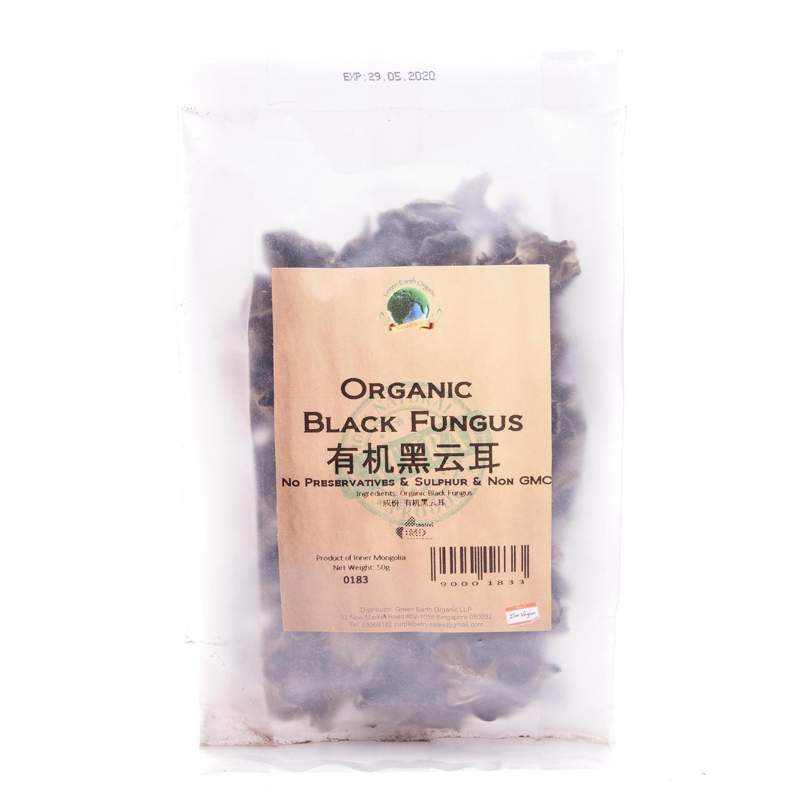 Green Earth Organic Organic Black Fungus