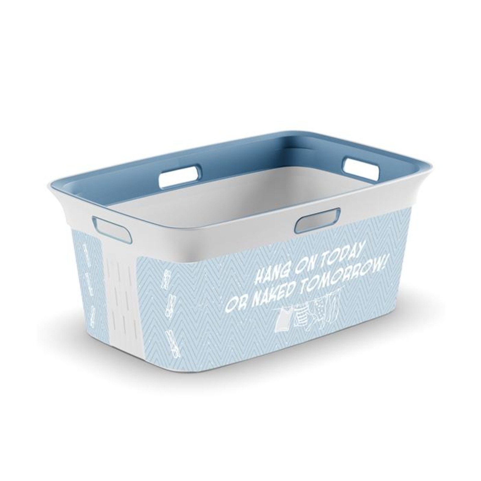 KIS Chic Laundry Basket Witty 45L