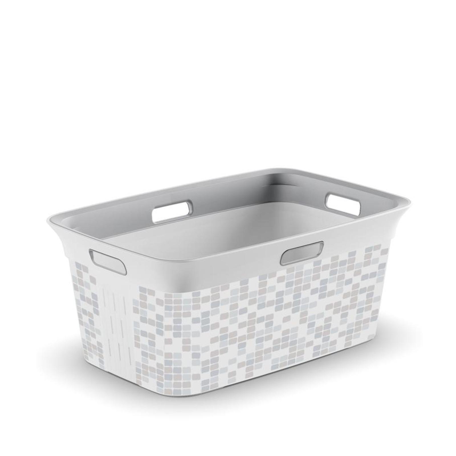 KIS Chic Laundry Basket Mosaic 45L