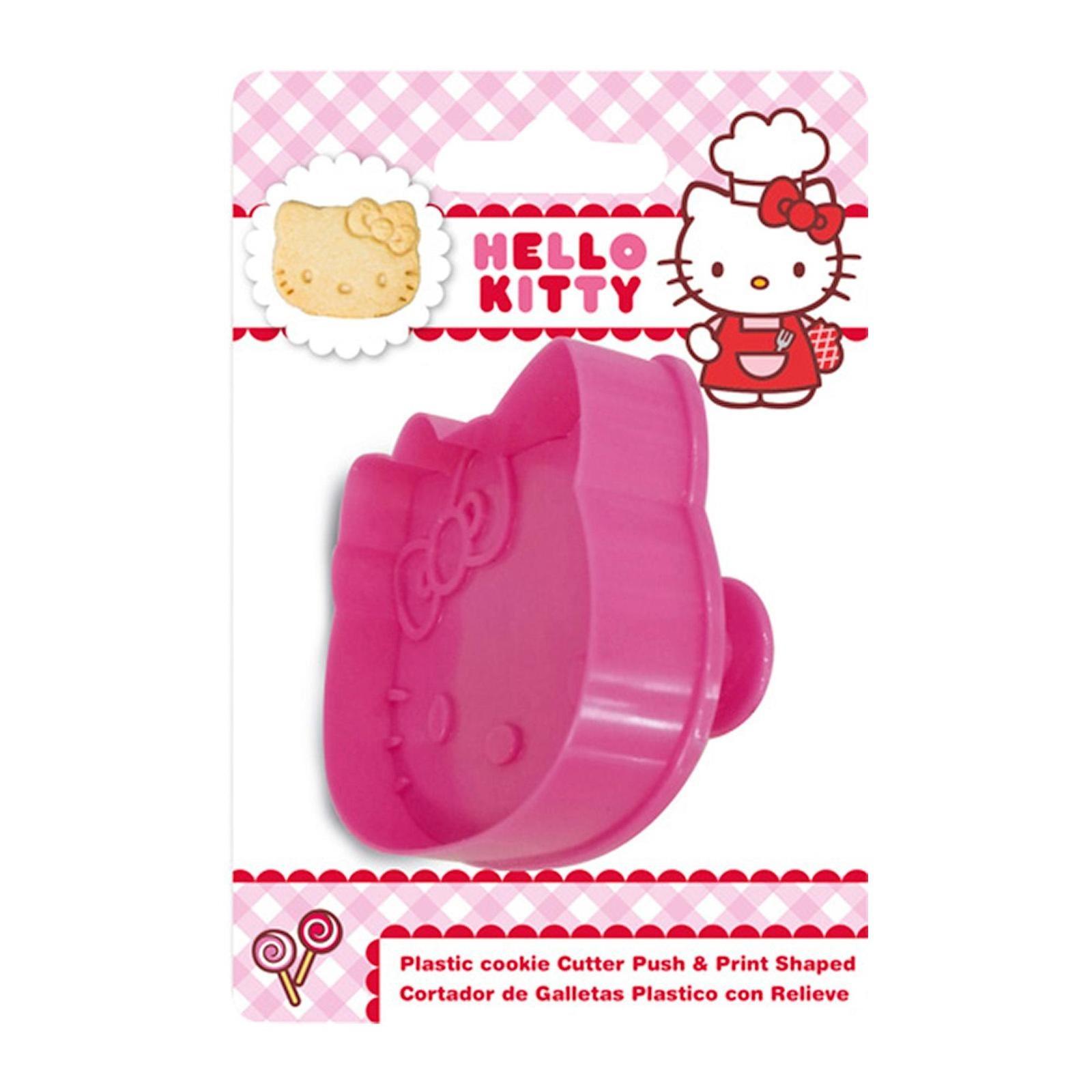 Sanrio Genuine Hello Kitty Head Shapes Baking-Plastic Cutter