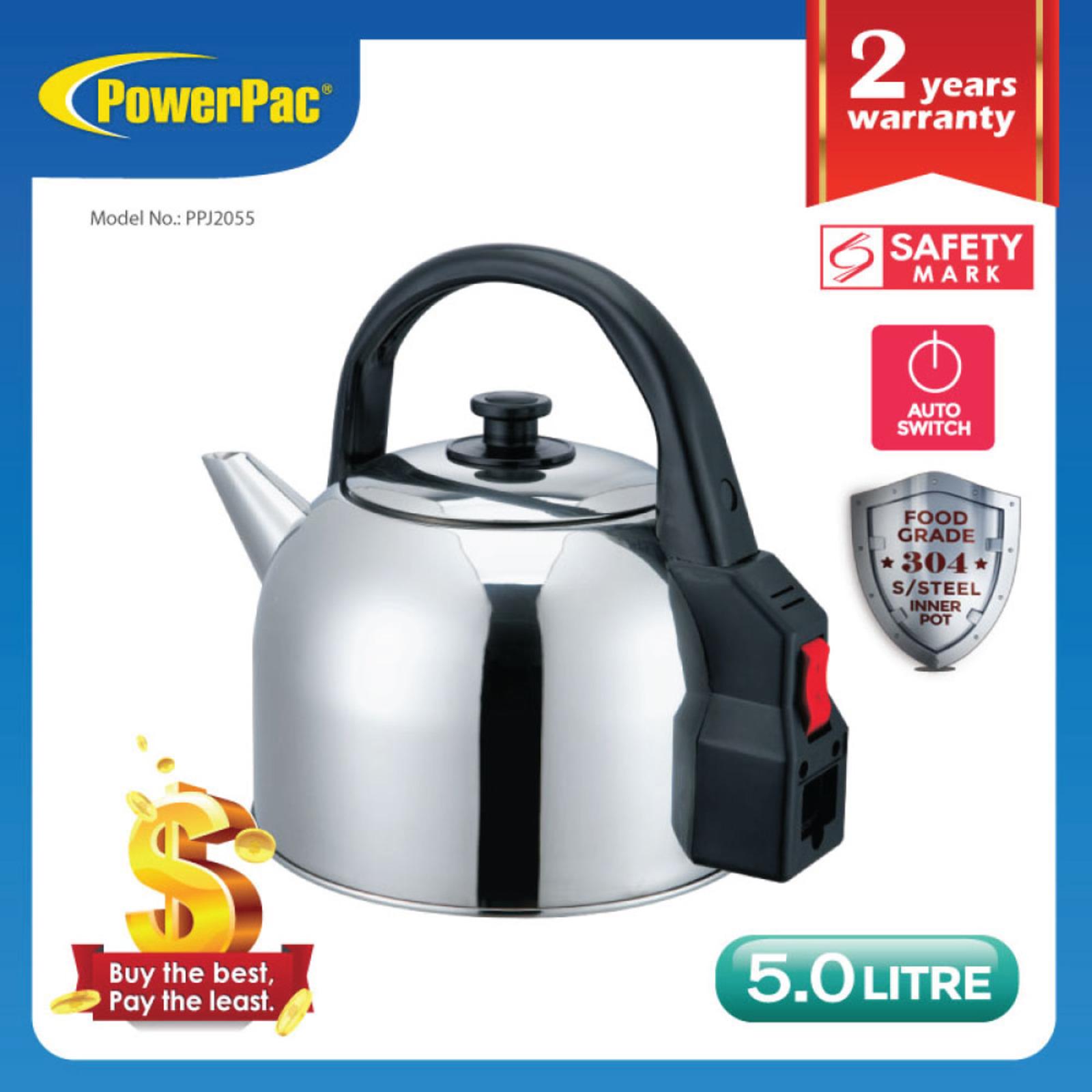 PowerPac (PPJ2055) 5.0L Electric Kettle