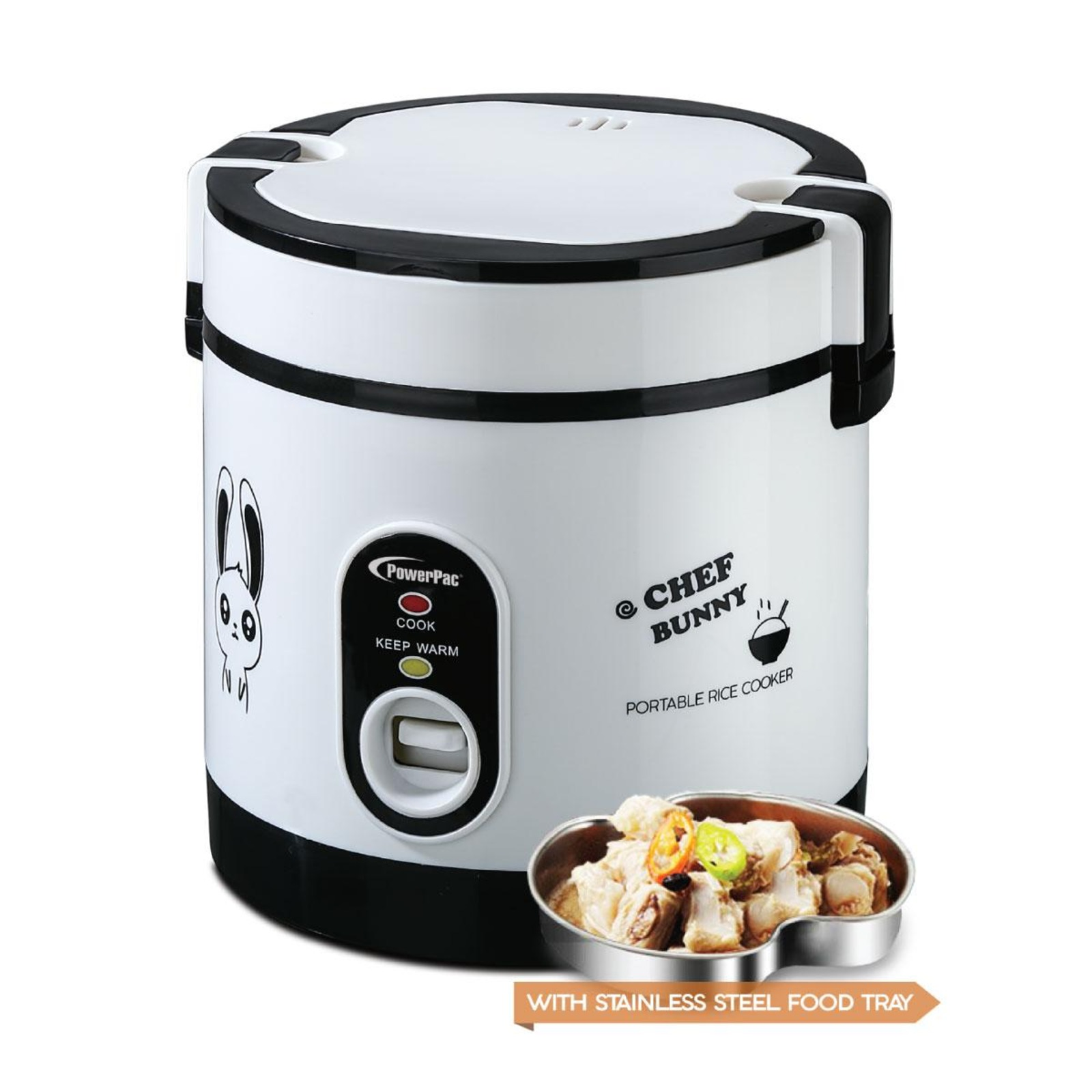 PowerPac (PPRC09) 0.6L Rice Cooker