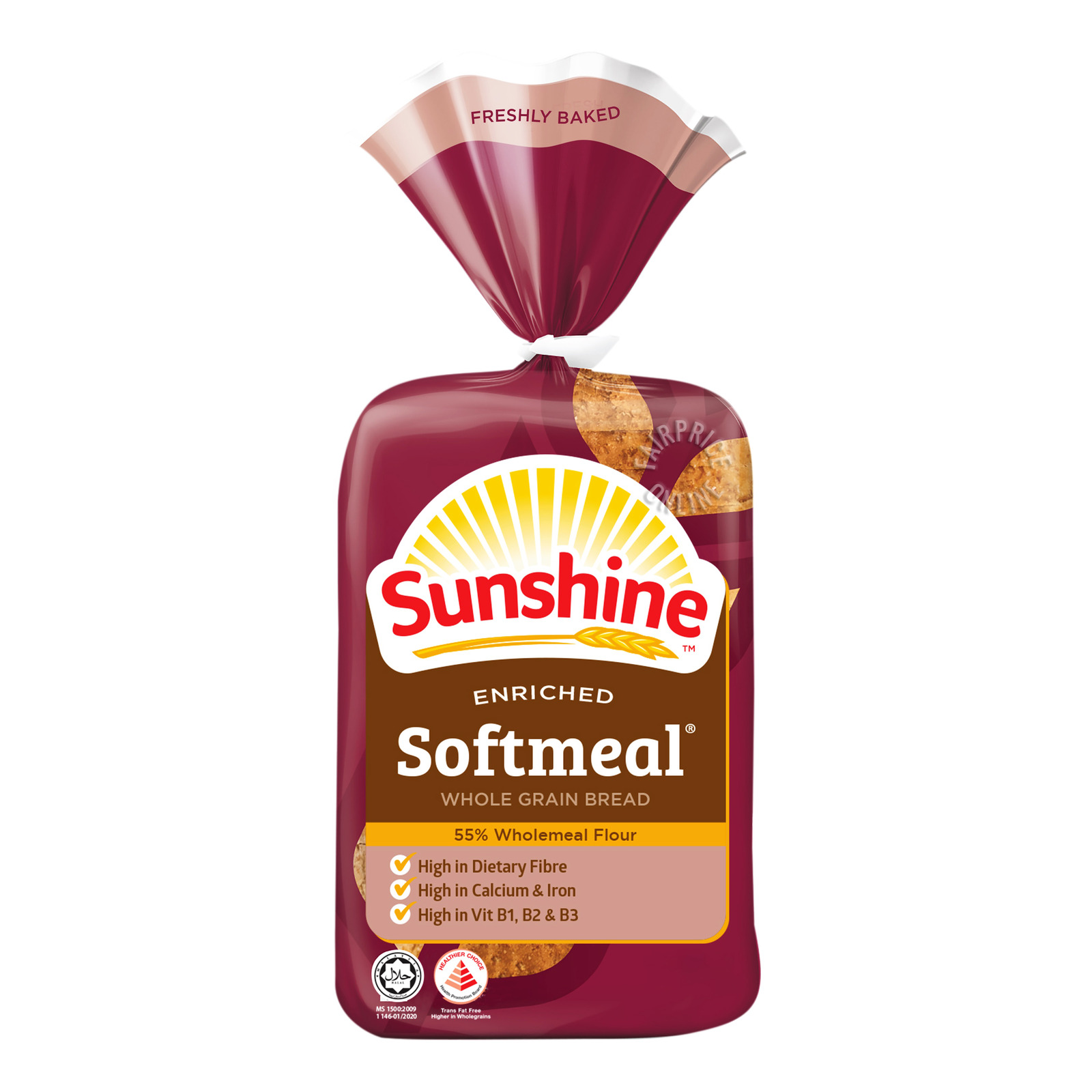 Sunshine Enriched Bread - Softmeal