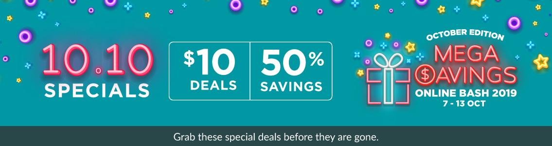 Fairprice online 10.10 Sale