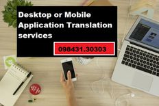 Desktop or Mobile Application services