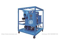 Metallic weather-proof Covered Insulating Oil Conditioning Plant,Transformer Oil Purification System