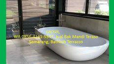 GROSIR, WA 0856-4211-5547, Jual Bak Mandi Teraso Marmer Semarang, Bathtub Terrazzo