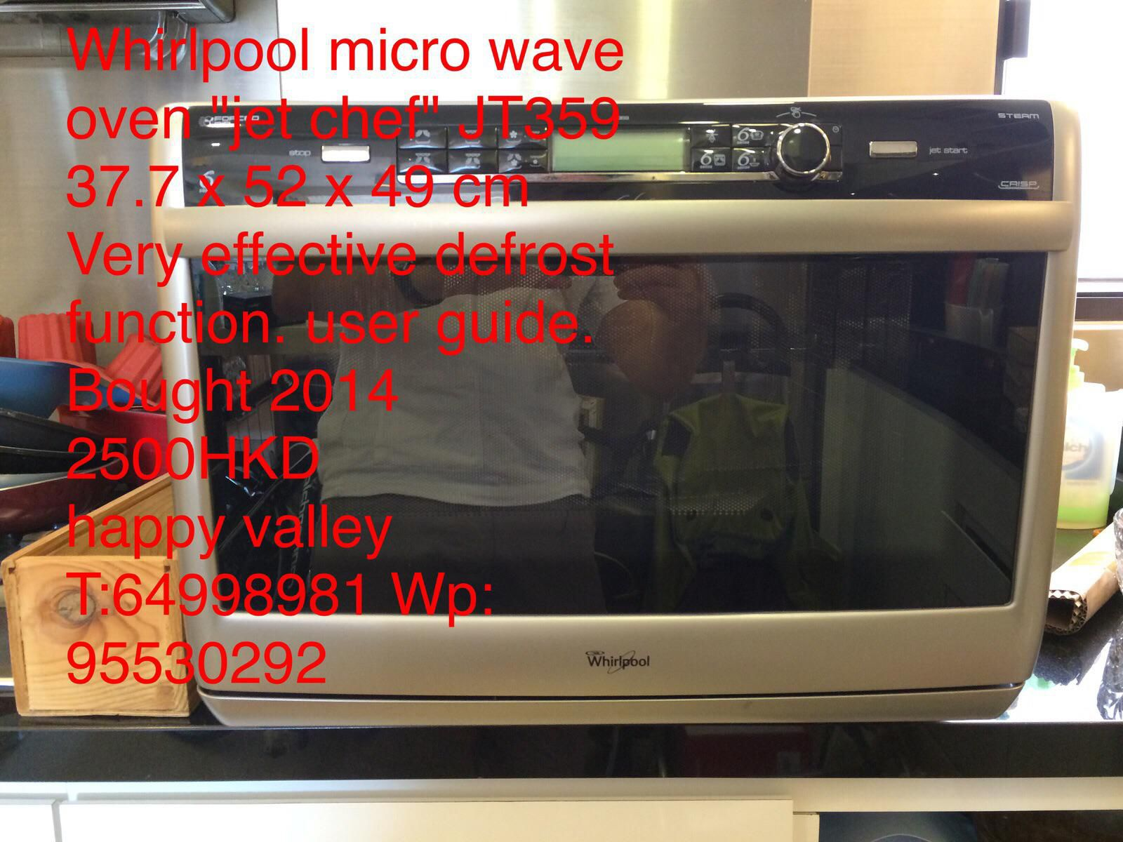 All-in-1 microwave oven Whirlpool JT 369