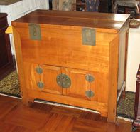 Antique Chinese Money Chest-MAKE OFFER