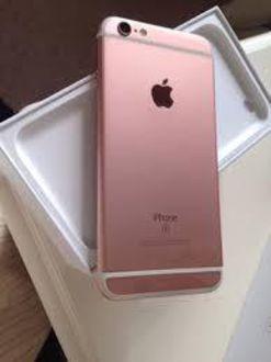 apple iphone 6s plus 128gb rose