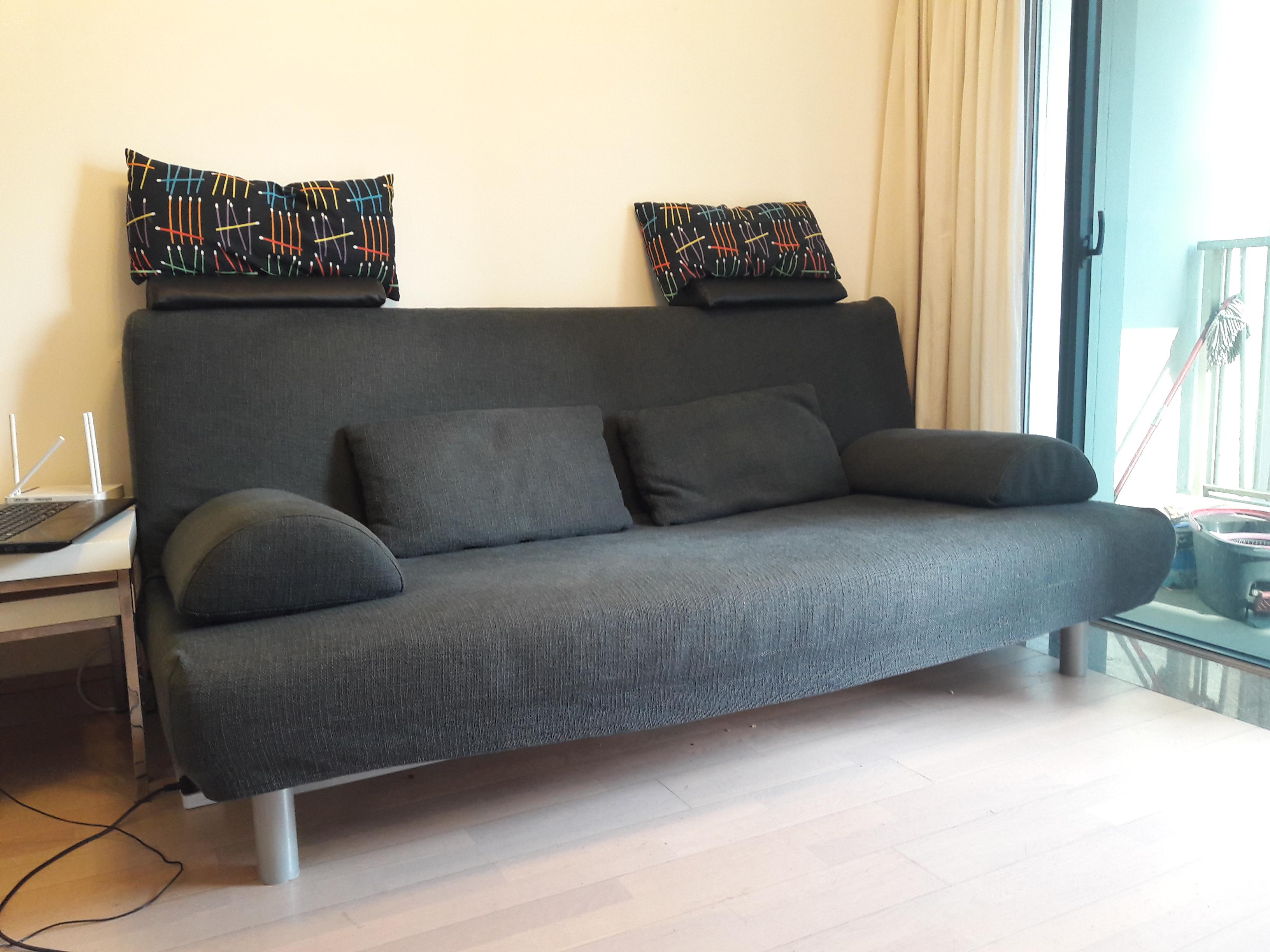 BEDDINGE sofa bed   All must go furniture for relocation ...