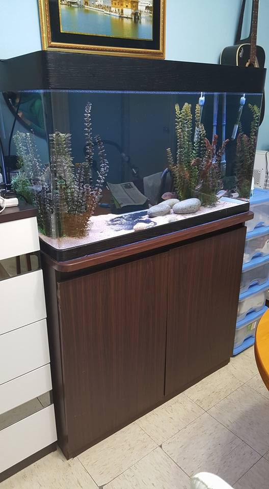 Fish tank cabinet filter light | Secondhand.hk