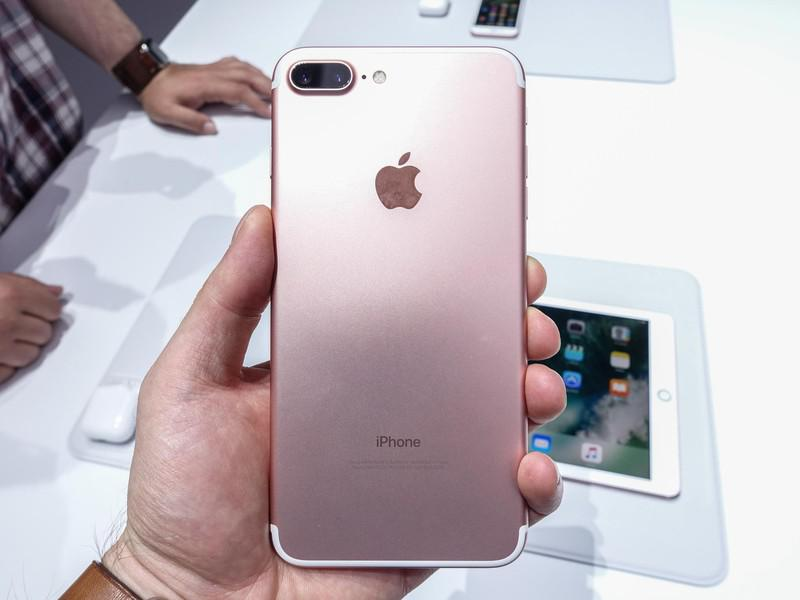 for sale new original apple iphone 7 plus gold rose gold hkd 5040 hongkong dollars. Black Bedroom Furniture Sets. Home Design Ideas