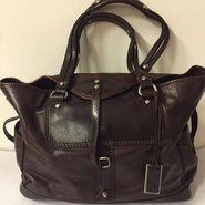 Gryson Dark Brown Leather Tote