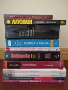 IB English, History, Math, Econ, Chinese, Spanish Textbooks