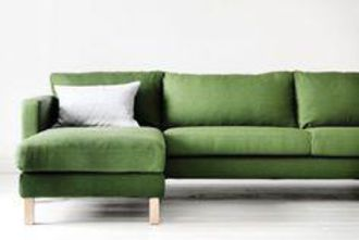 ikea l shape sofa green. Black Bedroom Furniture Sets. Home Design Ideas