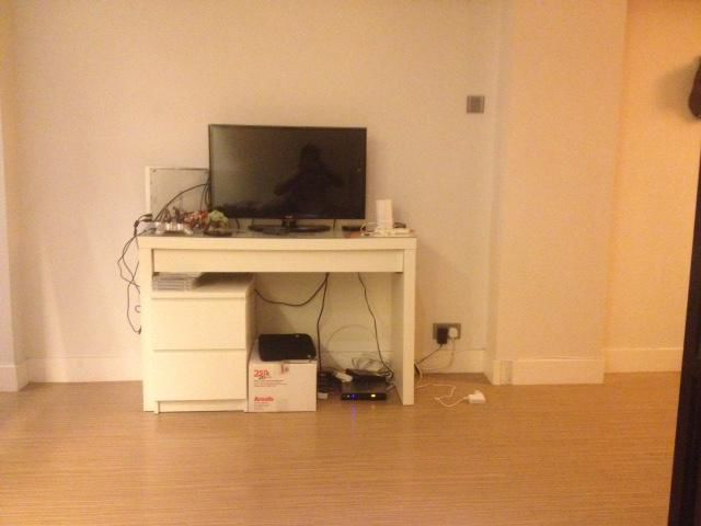 Ikea Malm Dressing Table, Billy Bookcase And Kitchen Stools