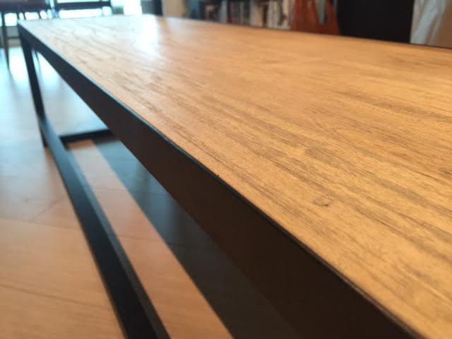 Wood Dining Table Set Industrial Raw Minimal Stylish Mercado Mx