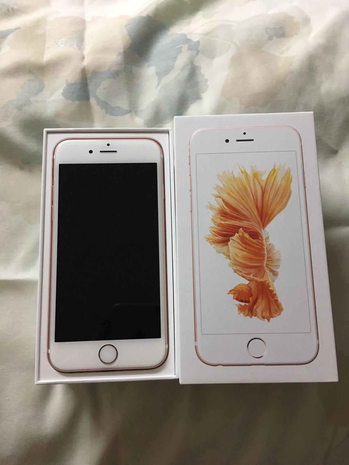 iphone 6s 64gb rose gold with warranty. Black Bedroom Furniture Sets. Home Design Ideas