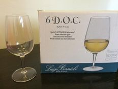 ISO certified tasting wine glasses from Italy