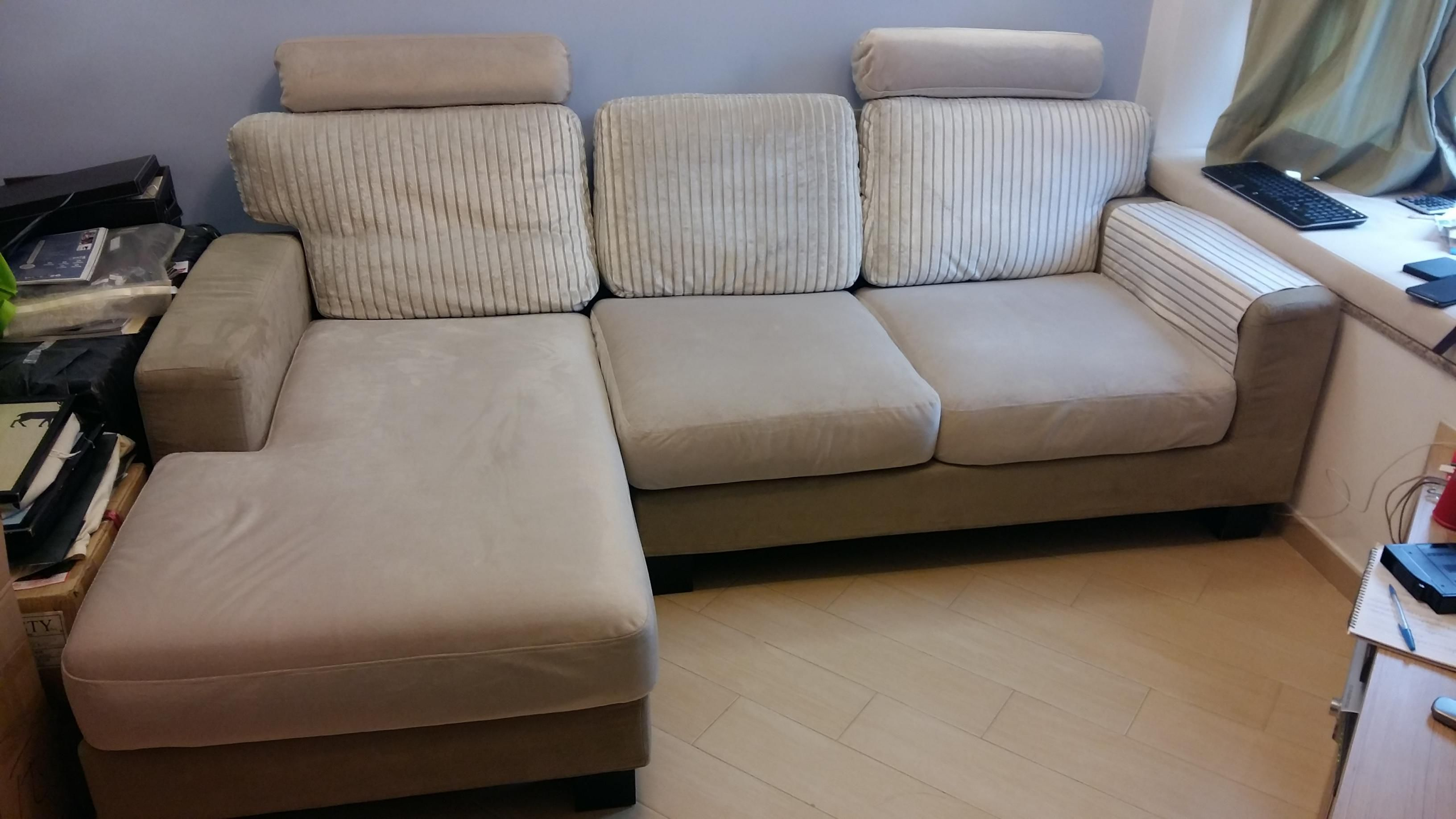 L-Shaped Sofa / Couch GREAT CONDITION