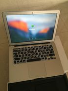 MacBook Air, with box and charger, good as new, used 4 month for professional purposes.