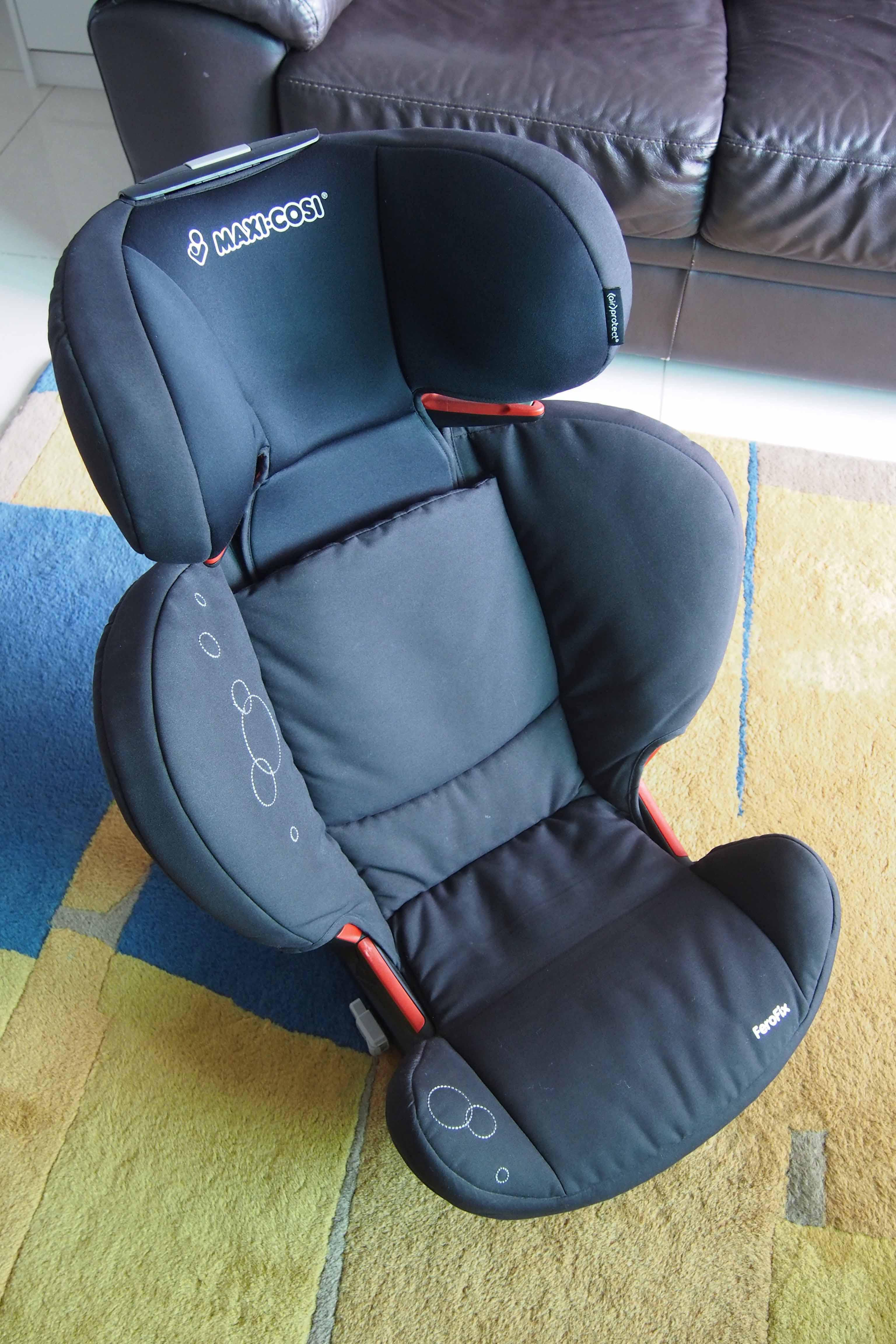 maxi cosi ferofix car seat 85 new black color. Black Bedroom Furniture Sets. Home Design Ideas