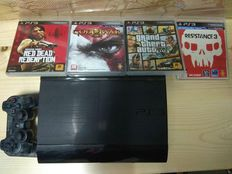 Ps3 Super Slim with 4 of Best ps3 Games - Contact 852 90578399