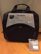 Samsonite Toploader on heels