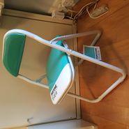 Selleti Pantone Folding Chair In 15-5519 Turquoise