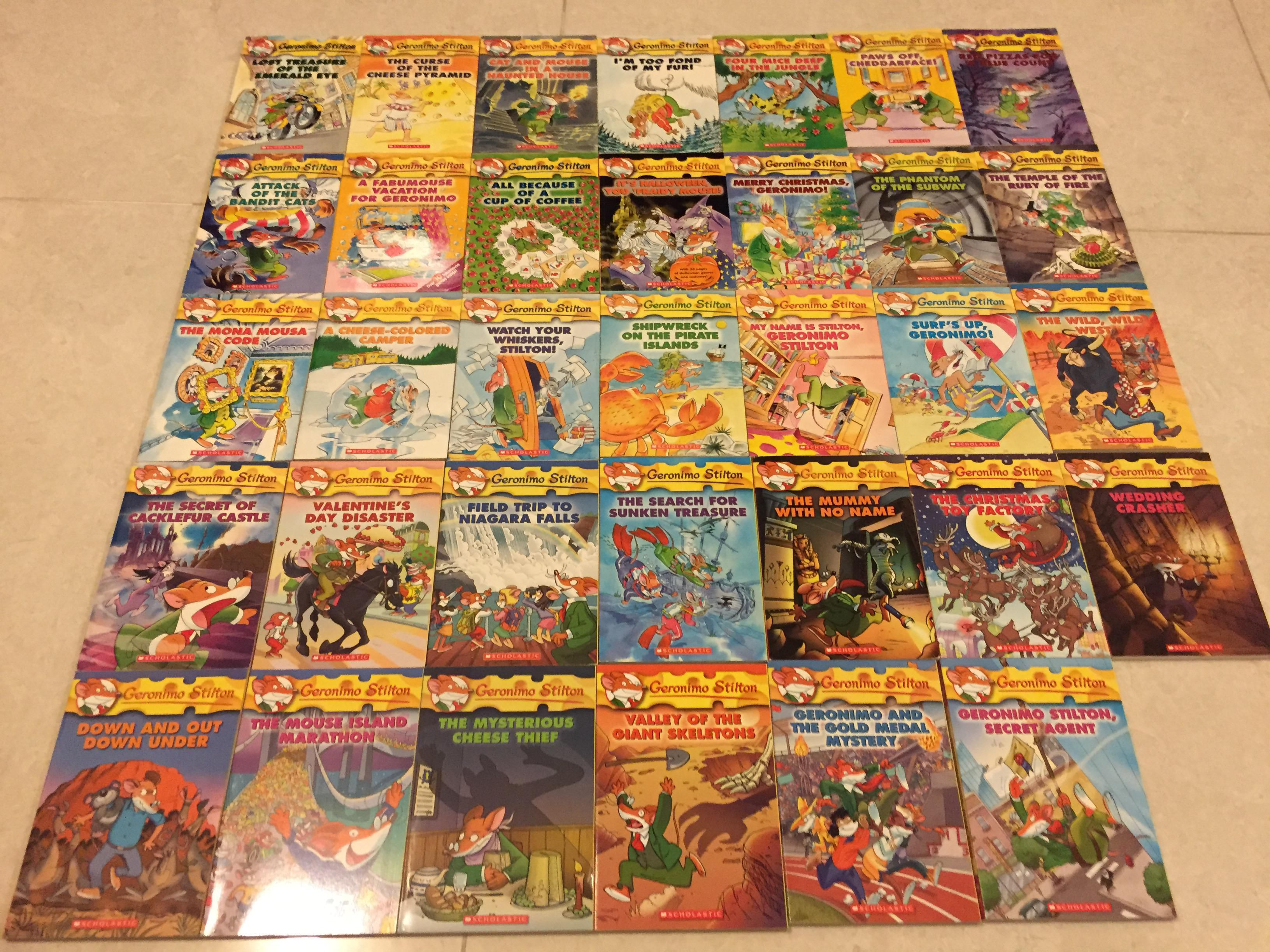 All Geronimo Stilton Books Set Of Geronimo Stilton