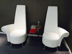 Stylish White Sofa