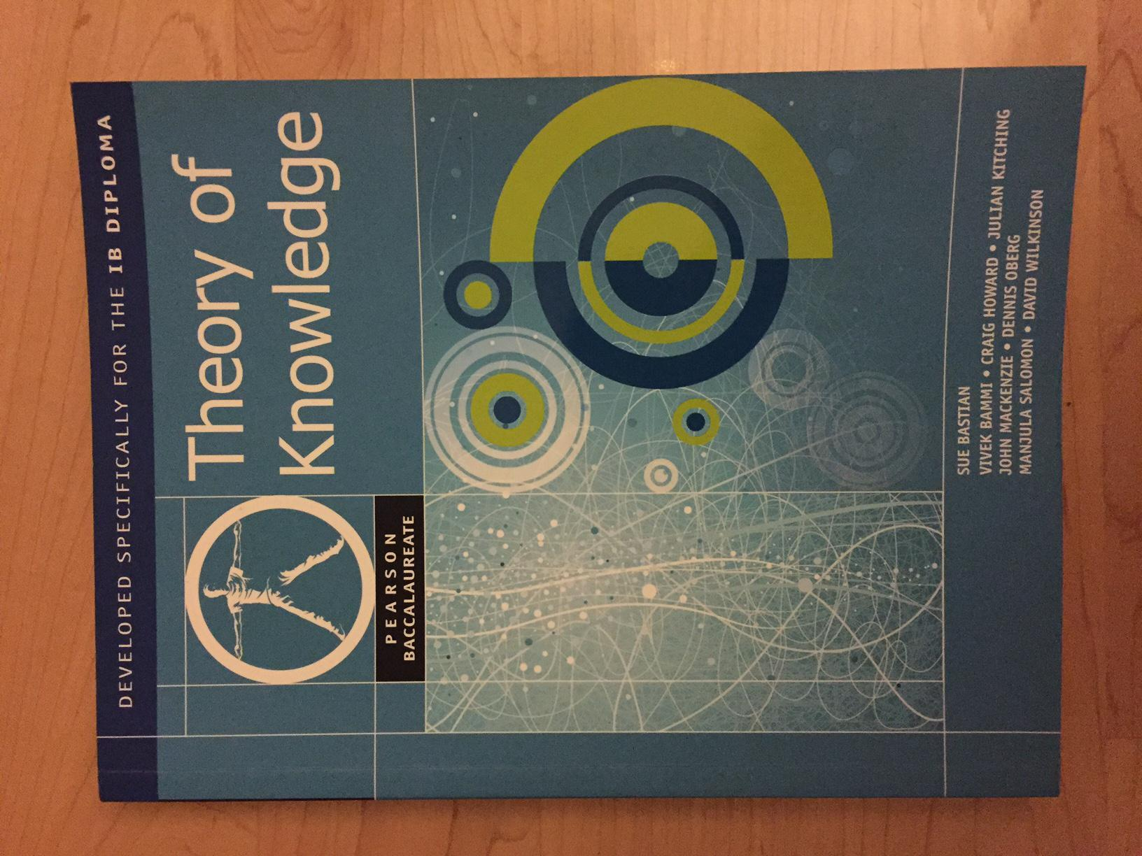 theory of knowledge textbook pdf