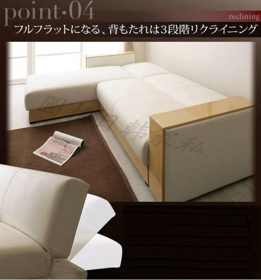 Used reclining sofa bed 80 new blue 1200 for Sofa bed used